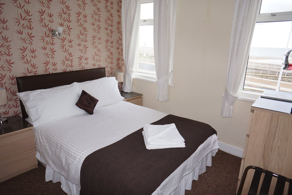 Double Sea View Room With En-Suite Including full English Breakfast.