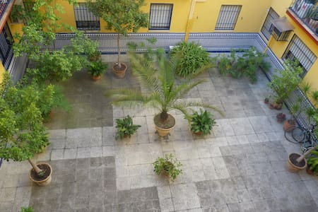 Room in a courtyard of Triana