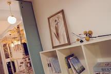【北欧小筑】市中心/天门山索道旁/128平方米/三室两厅两阳台/独立衣帽间化妆间/澧水河畔/自主设计
