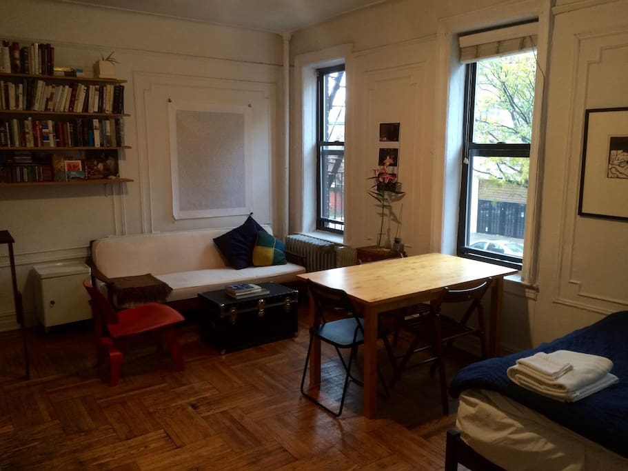 Your own sunny studio apartments for rent in brooklyn for Studios for rent in nyc