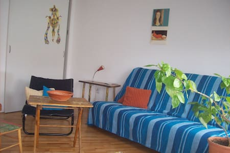 Warm quiet artist place with parking - Belgrad