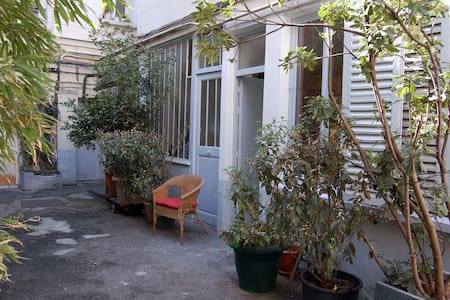 Art Studio on courtyard with trees - Paříž - Byt