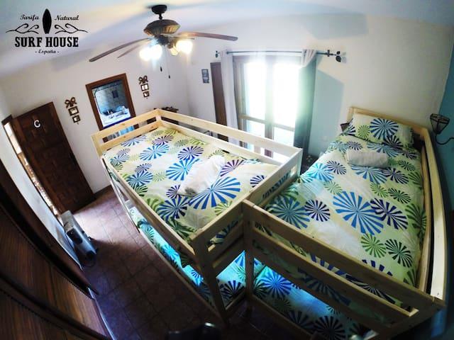 Tarifa Natural Surf Club Room C - Malaga - Villa