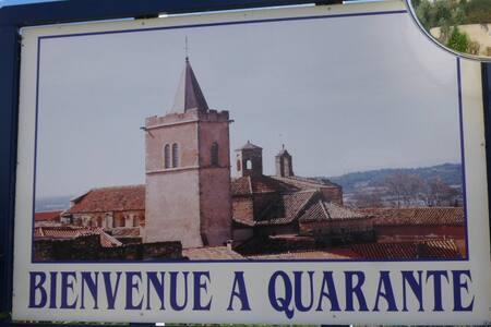 maison de village toute équipée près de Béziers - Quarante