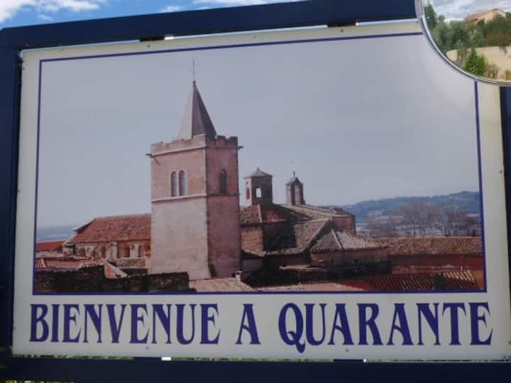 maison de village toute équipée près de Béziers