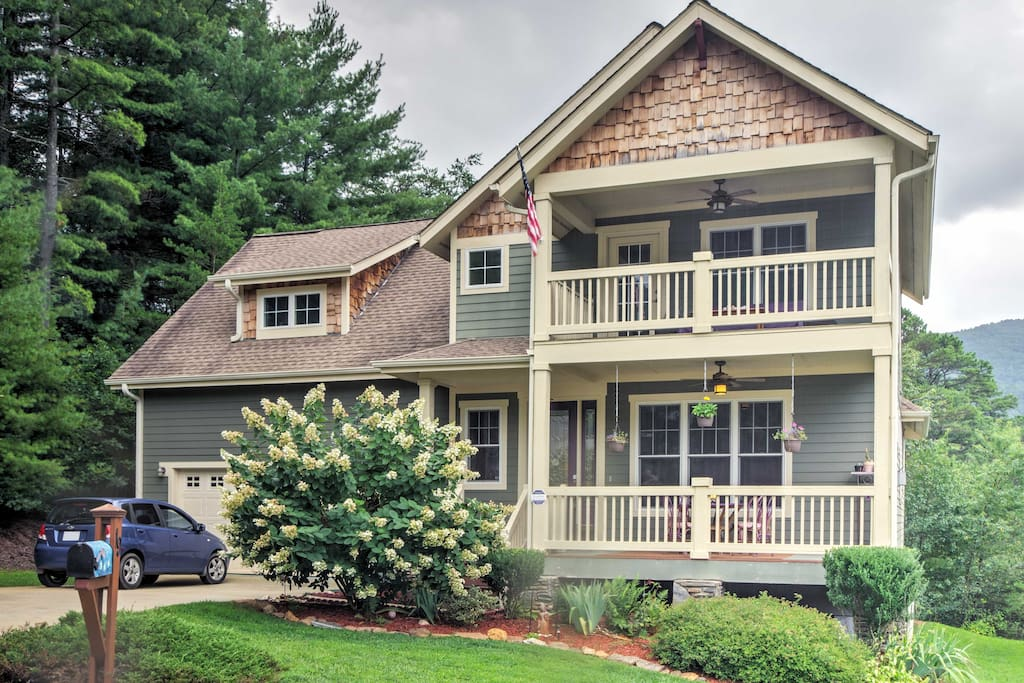 Your Asheville vacation rental home awaits you!