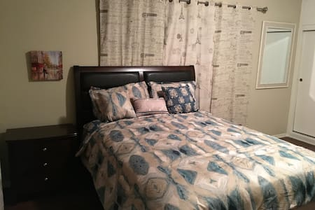 Large, Cozy & Bright Private Bedroom with Parking - Los Angeles - Appartement