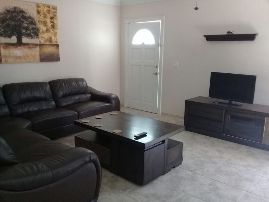 Front entry / living room