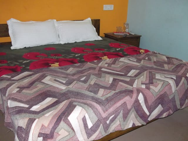 Double Bed With Fan - Anjuna
