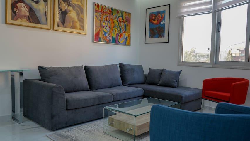 Centrally located luxury 1 BR apartment in Nicosia