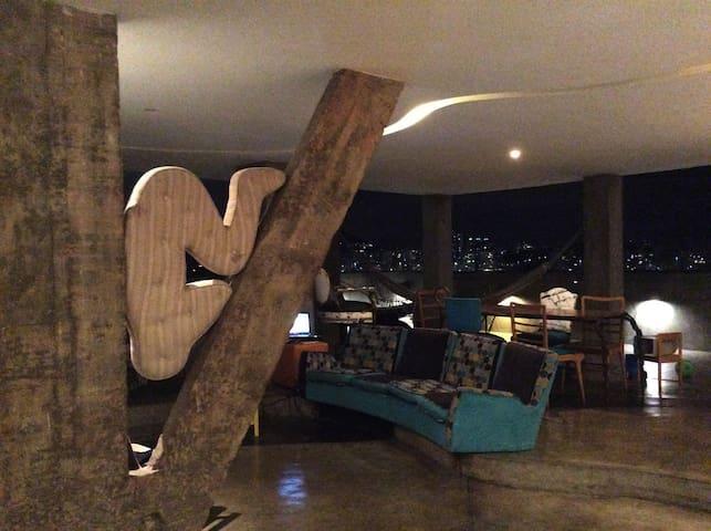 living room /open area /loft style
