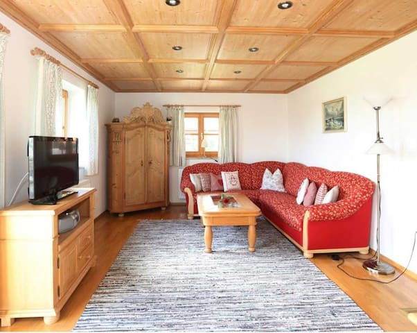 Beautiful Holiday Apartment Morgenrot with Mountain View, Wi-Fi, Balcony & Garden; Parking Available