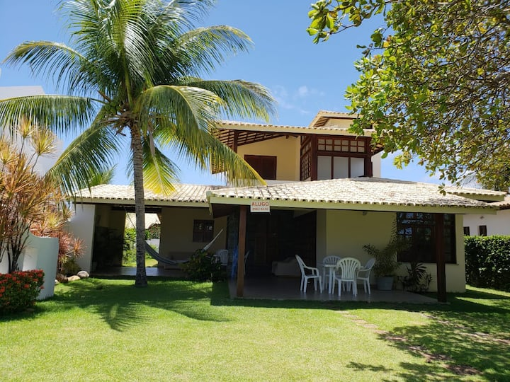 Casa de Praia com Cajueiro a  50 mts do mar