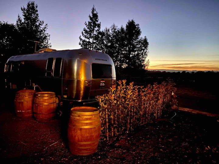 Airstream Vineyard Escape:  Couples Getaway