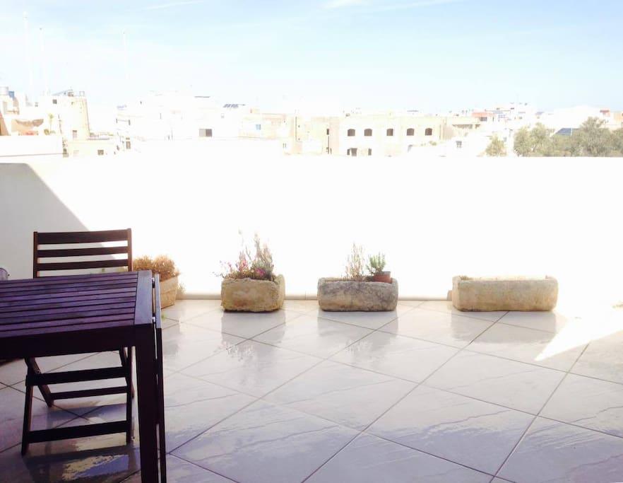 Lovely relaxing terrace