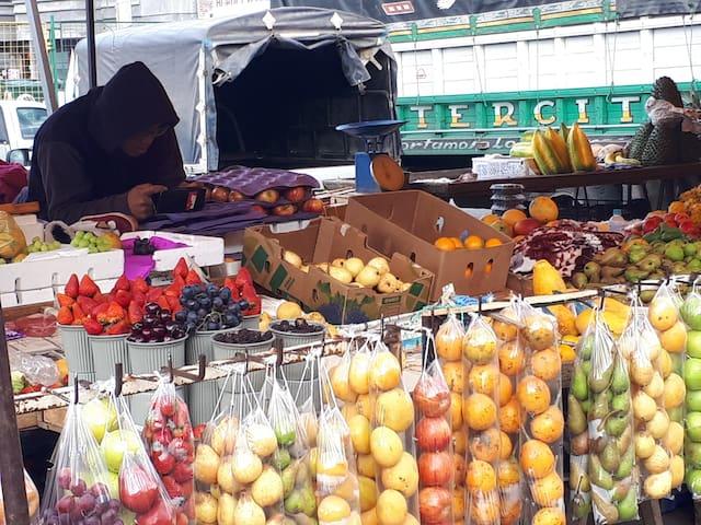 Market in Machachi