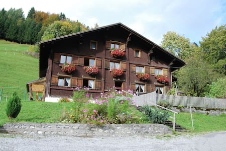 Delightful Apartment in Sonntag Vorarlberg with Garden
