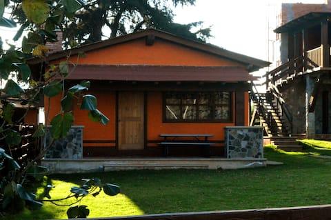 Cabañas Puerta del Bosque 4 Personas (naranja)