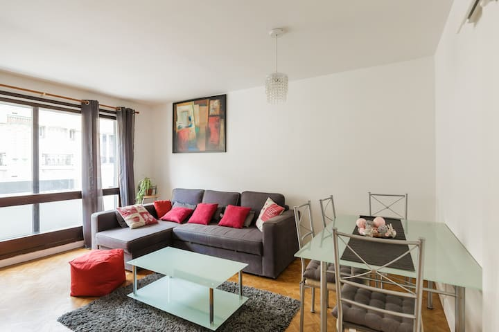 Paris 12eme- 4 persons +1baby- near all amenities
