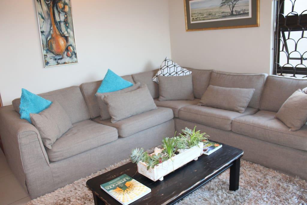 Super Comfy 8 man Couch!