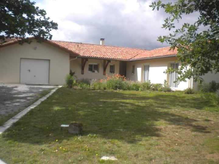 villa maya  soleil levant, côté Est