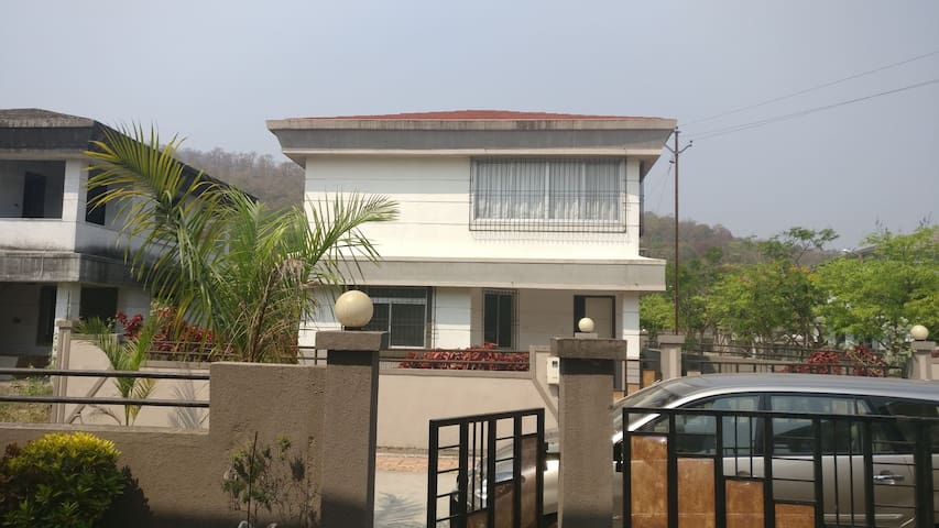2BHK Villa surrounded with Hills, Jungle, Nr.Virar