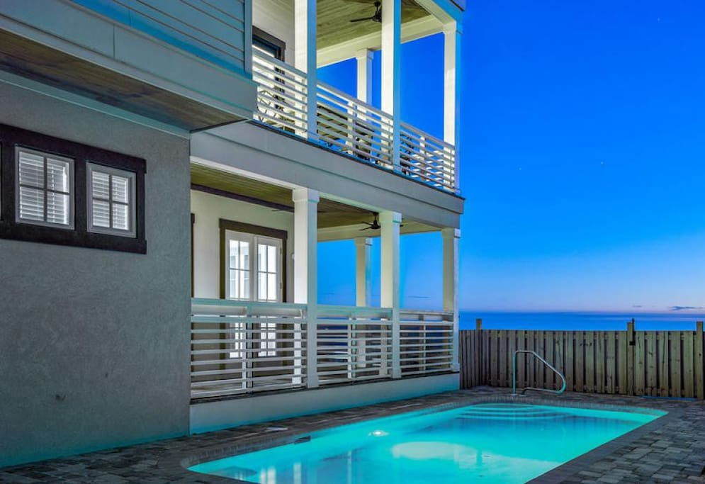 The Pelagic Blue - Vacation Rental in Dune Allen Beach