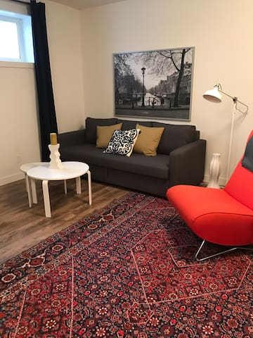 Private guest suite minutes to Old Strathcona!