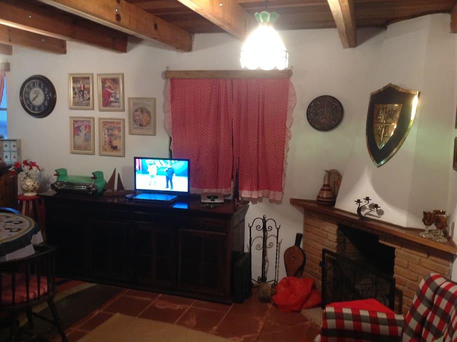 Vista parcial da sala