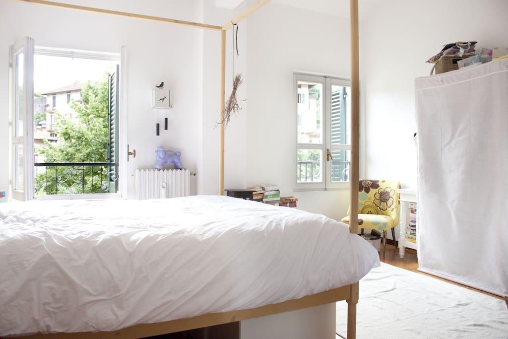bedroom 1: lots of light