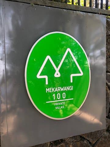 Mekarwangi 100.  Our new logo