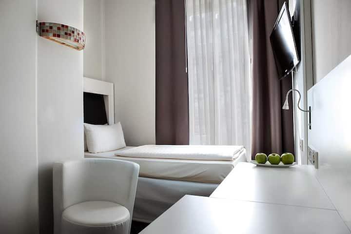 Einzelzimmer im Herzen Frankfurts