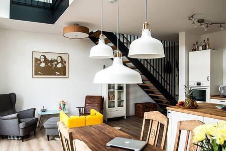 Wunderschöne Maisonette Wohnung ruhig & zentral - Kassel