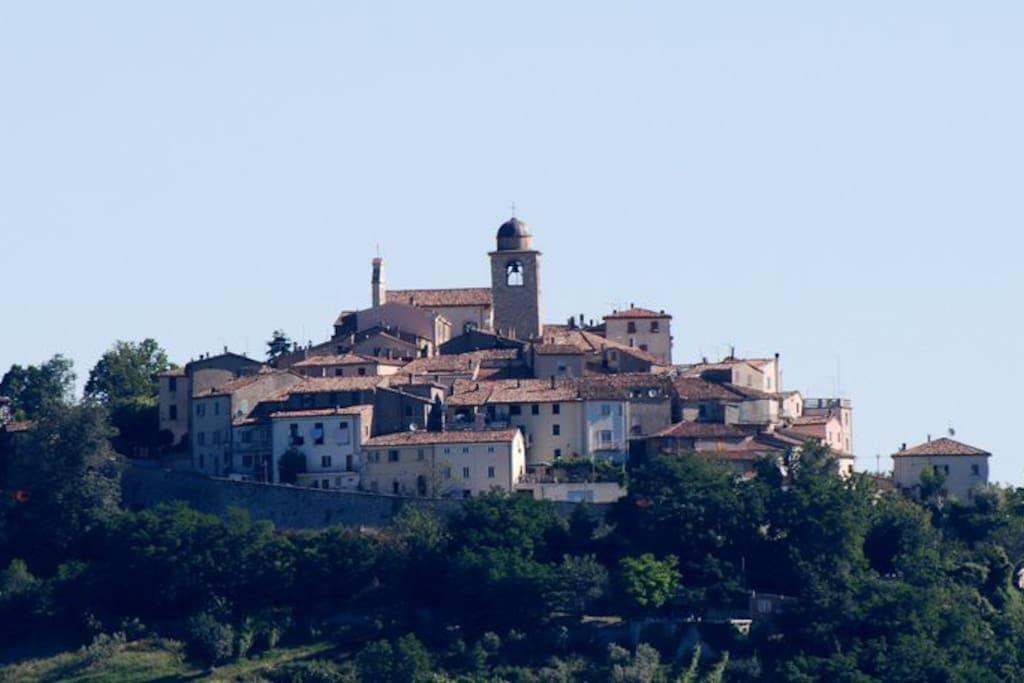 Monte Grimano Terme, uno dei Borghi più belli d'Italia