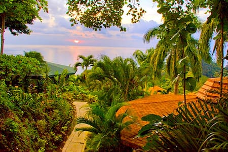 Tulemar Bungalow 111-Ocean view, 1 bdr, Beach - Manuel Antonio - House