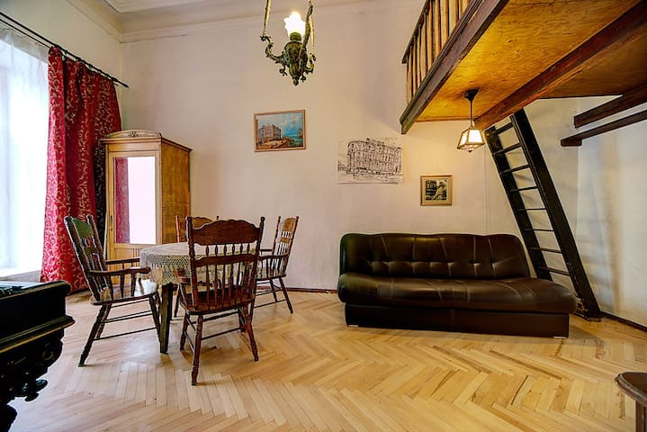 Authentic apartment in the center