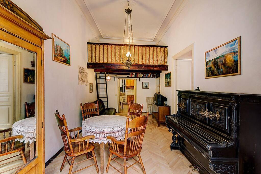 living room. Гостиная