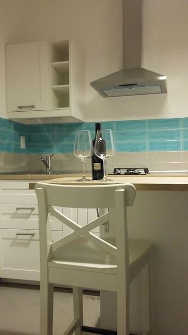 La cucina ..un caloroso benvenuto
