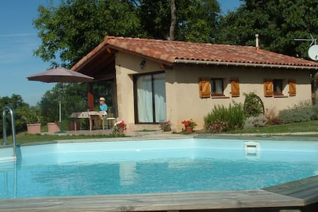 A gite with views of the Pyrenees - Lalanne - Ház