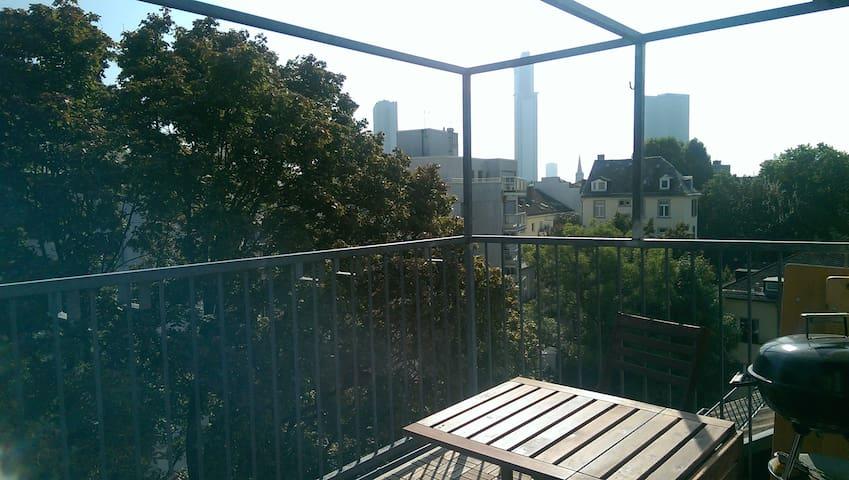 Über den Dächern Frankfurts - Frankfurt am Main - Apartment