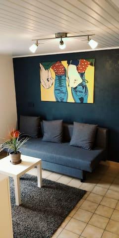 Appartement indépendant dans une villa au vert