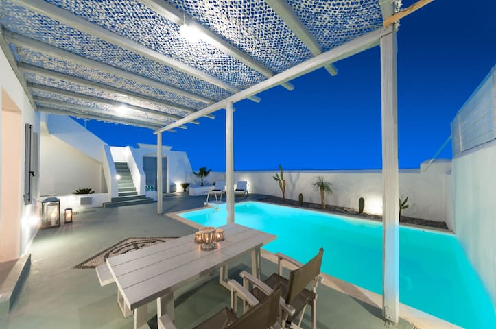 White Village-One Bedroom Villa with private pool - Lachania - Villa