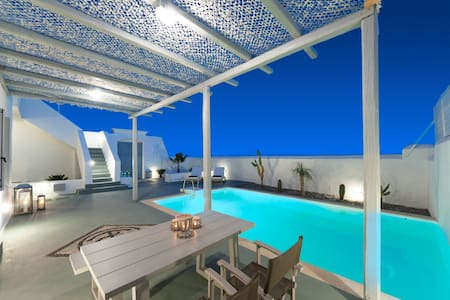 White Village-One Bedroom Villa with private pool - Lachania
