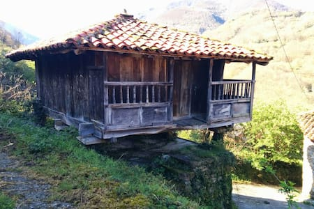 Casa tradicional asturiana - Pigüeña