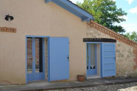 Appartement (Gîte) op boerderij - Durfort Lacapelette
