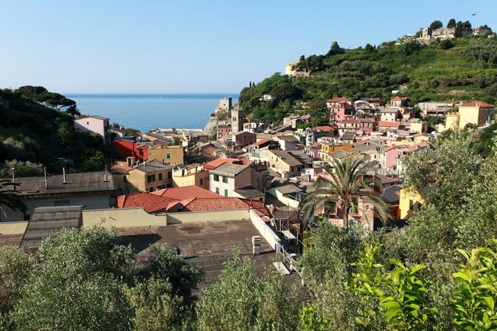 APT in villa with esclusive parking - Monterosso Al Mare - Appartement