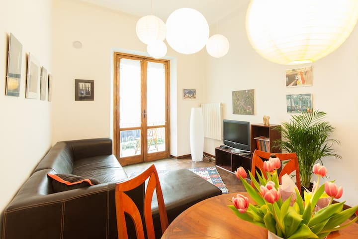 Relax, cosy apartment with balcony - Turin - Wohnung