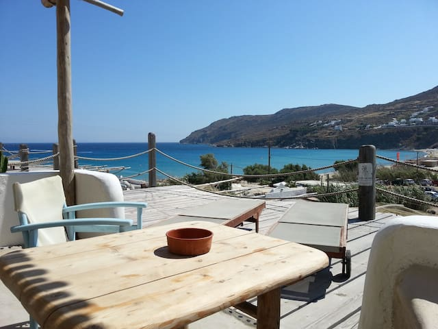 Room for 2 by the beach with seavie - Mikonos - Apto. en complejo residencial