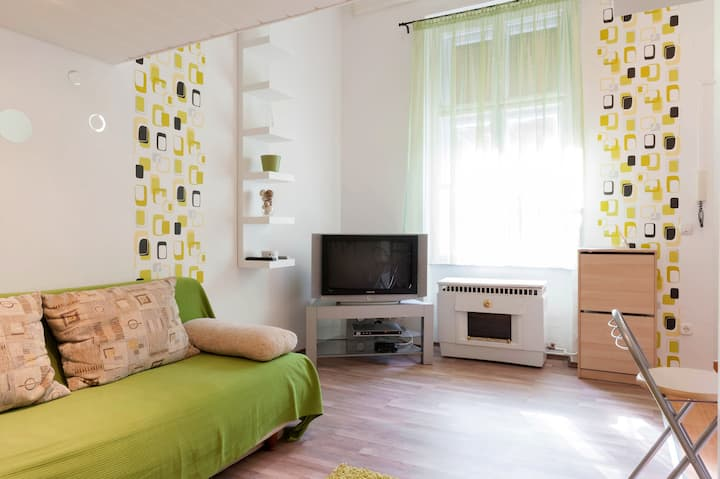 Friendly flat in heart of Budapest
