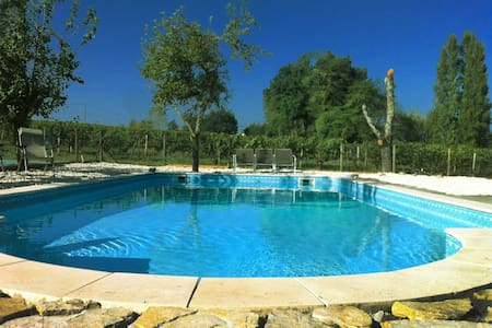 Luxury Farmhouse - Pool + vineyard - Blaye, Saint-Ciers-de-Canesse
